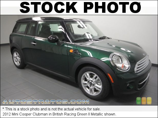 Stock photo for this 2012 Mini Cooper Clubman 1.6 Liter DOHC 16-Valve VVT 4 Cylinder 6 Speed Steptronic Automatic