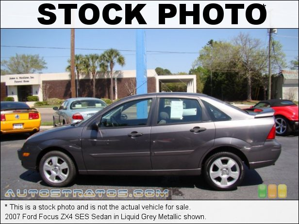 Stock photo for this 2007 Ford Focus ZX4 SES Sedan 2.0 Liter DOHC 16-Valve 4 Cylinder 4 Speed Automatic