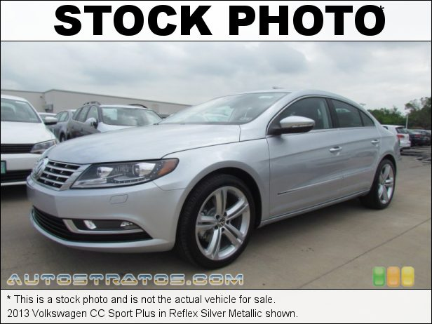 Stock photo for this 2013 Volkswagen CC Sport Plus 2.0 Liter FSI Turbocharged DOHC 16-Valve VVT 4 Cylinder 6 Speed DSG Dual-Clutch Automatic
