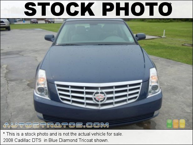 Stock photo for this 2008 Cadillac DTS  4.6 Liter DOHC 32-Valve VVT Northstar V8 4 Speed Automatic