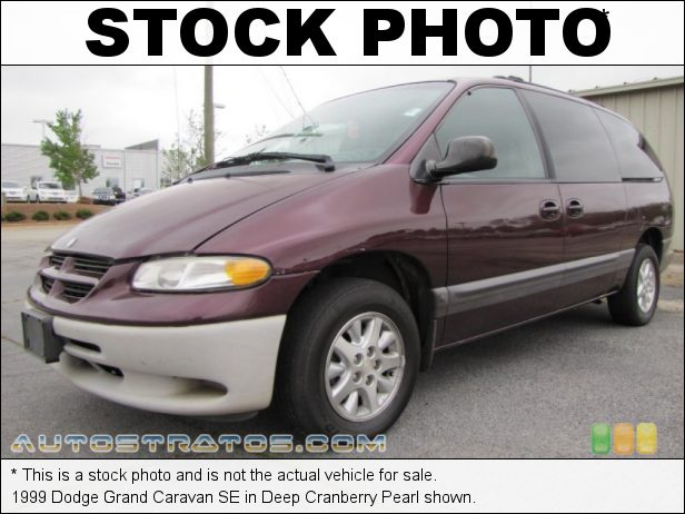 Stock photo for this 1999 Dodge Grand Caravan SE 3.3 Liter OHV 12-Valve V6 4 Speed Automatic