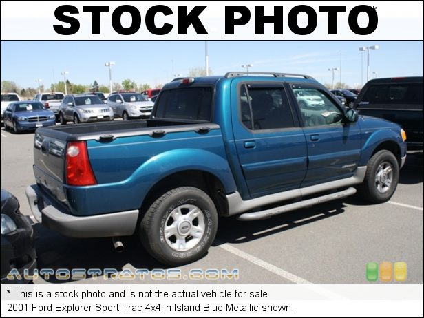Stock photo for this 2001 Ford Explorer Sport Trac 4x4 4.0 Liter SOHC 12-Valve V6 5 Speed Automatic