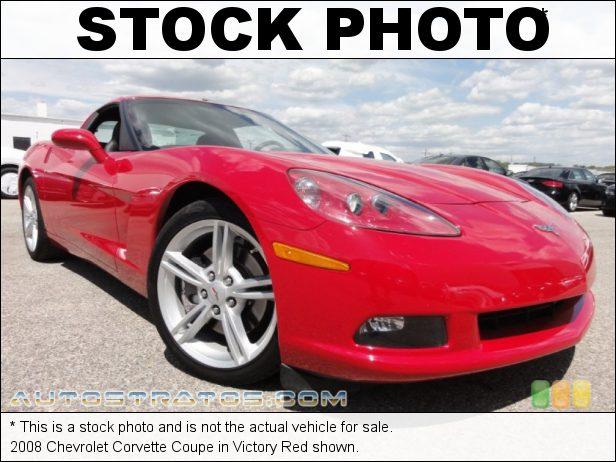 Stock photo for this 2008 Chevrolet Corvette Coupe 6.2 Liter OHV 16-Valve LS3 V8 6 Speed Manual