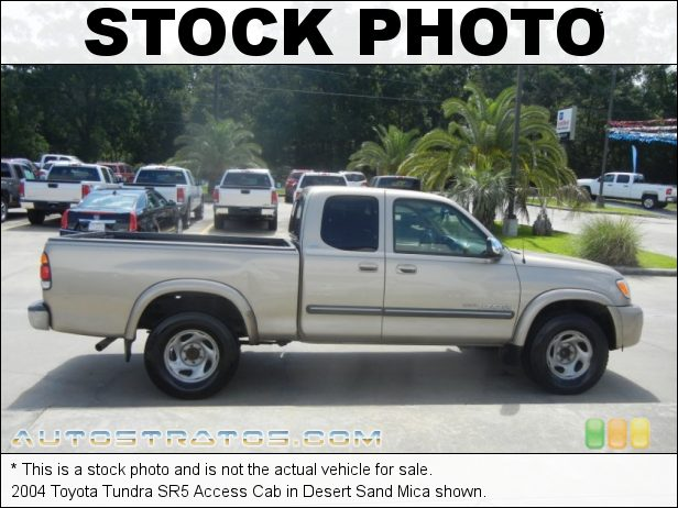 Stock photo for this 2004 Toyota Tundra SR5 Access Cab 3.4L DOHC 24V V6 4 Speed Automatic