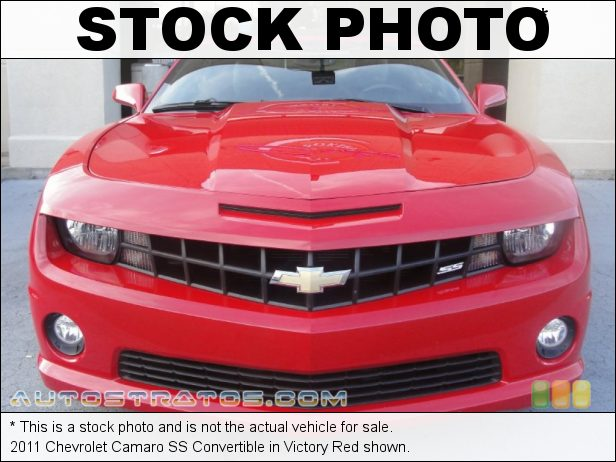Stock photo for this 2011 Chevrolet Camaro SS Convertible 6.2 Liter OHV 16-Valve V8 6 Speed TAPshift Automatic