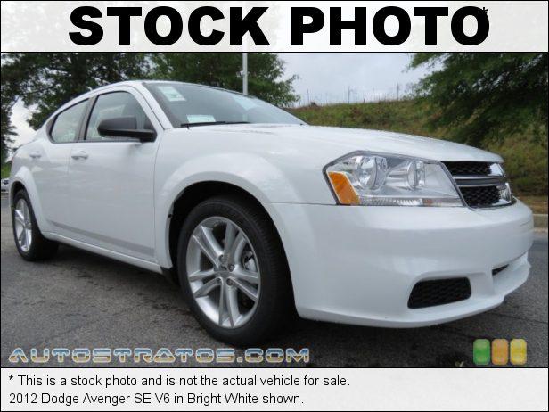 Stock photo for this 2012 Dodge Avenger SE V6 3.6 Liter DOHC 24-Valve VVT Pentastar V6 6 Speed Automatic