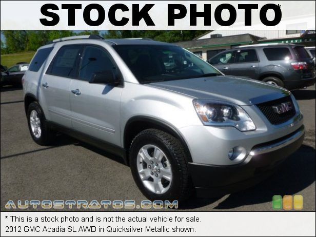 Stock photo for this 2012 GMC Acadia SL AWD 3.6 Liter SIDI DOHC 24-Valve VVT V6 6 Speed Automatic