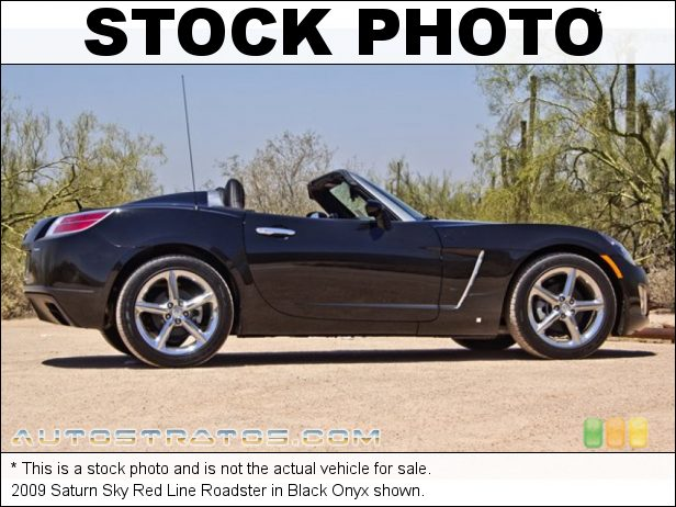 Stock photo for this 2009 Saturn Sky Red Line Roadster 2.0 Liter Turbocharged DOHC 16-Valve VVT 4 Cylinder 5 Speed Manual