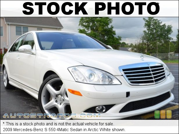 Stock photo for this 2009 Mercedes-Benz S 550 4Matic Sedan 5.5 Liter DOHC 32-Valve VVT V8 7 Speed Automatic