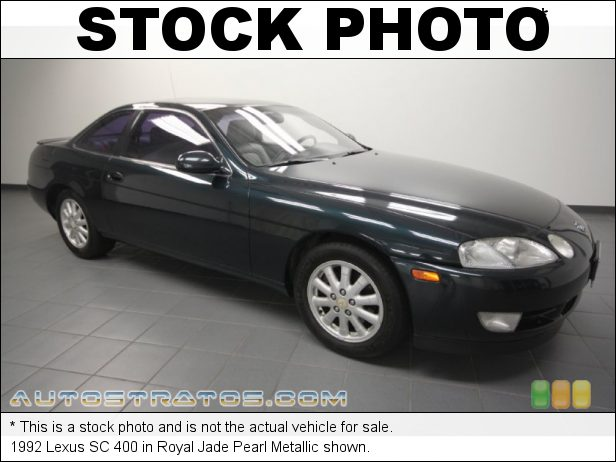 Stock photo for this 1992 Lexus SC 400 4.0 Liter DOHC 32-Valve V8 4 Speed Automatic