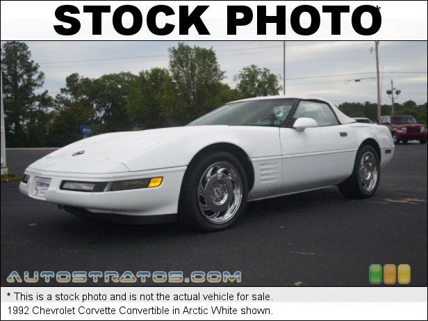 Stock photo for this 1992 Chevrolet Corvette Convertible 5.7 Liter OHV 16-Valve LT1 V8 4 Speed Automatic
