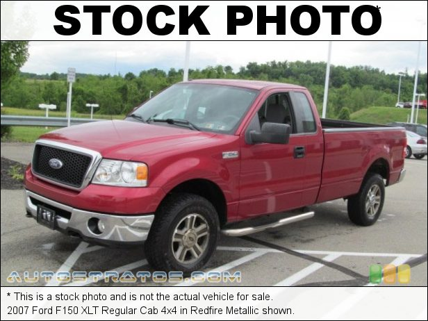 Stock photo for this 2007 Ford F150 Regular Cab 4x4 5.4 Liter SOHC 24-Valve Triton V8 4 Speed Automatic