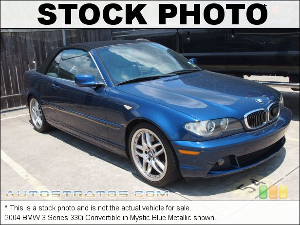 Stock photo for this 2004 BMW 3 Series 330i Convertible 3.0L DOHC 24V Inline 6 Cylinder 6 Speed Manual