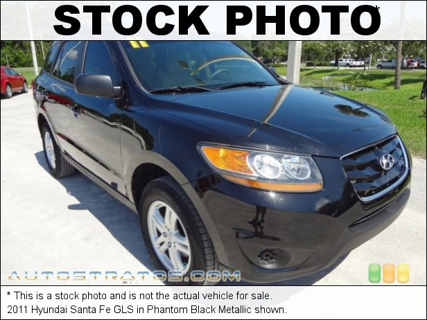 Stock photo for this 2011 Hyundai Santa Fe  3.5 Liter DOHC 24-Valve VVT V6 6 Speed Shiftronic Automatic