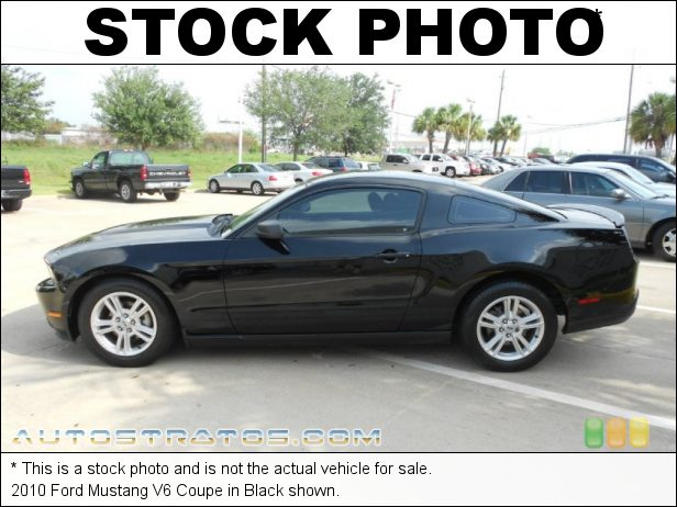 Stock photo for this 2010 Ford Mustang V6 Coupe 4.0 Liter SOHC 12-Valve V6 5 Speed Manual