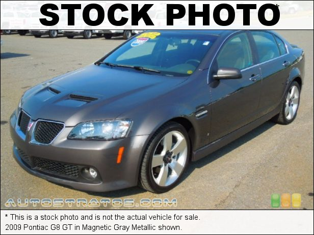 Stock photo for this 2009 Pontiac G8 GT 6.0 Liter OHV 16-Valve L76 V8 6 Speed Automatic