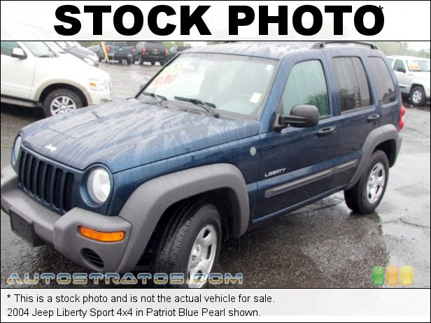 Stock photo for this 2004 Jeep Liberty Sport 4x4 3.7 Liter SOHC 12V Powertech V6 5 Speed Manual