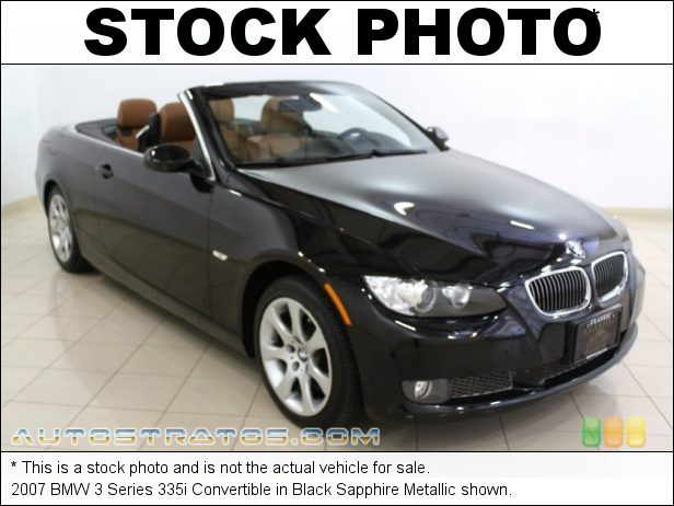 Stock photo for this 2007 BMW 3 Series 335i Convertible 3.0L Twin Turbocharged DOHC 24V VVT Inline 6 Cylinder 6 Speed Manual