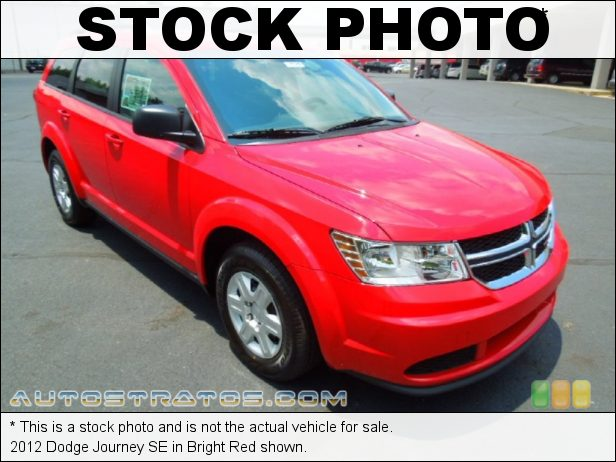 Stock photo for this 2012 Dodge Journey SE 2.4 Liter DOHC 16-Valve Dual VVT 4 Cylinder 4 Speed AutoStick Automatic
