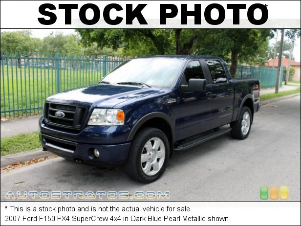 Stock photo for this 2007 Ford F150 SuperCrew 4x4 5.4 Liter SOHC 24-Valve Triton V8 4 Speed Automatic