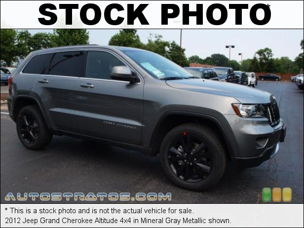 Stock photo for this 2012 Jeep Grand Cherokee Altitude 4x4 3.6 Liter DOHC 24-Valve VVT V6 5 Speed Automatic