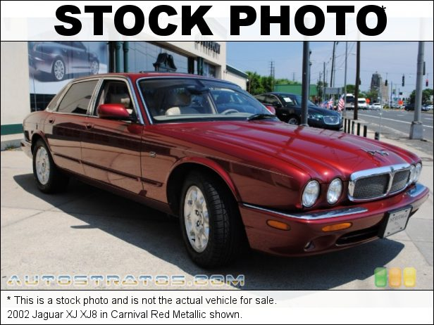 Stock photo for this 2002 Jaguar XJ XJ8 4.0 Liter DOHC 32 Valve V8 5 Speed Automatic