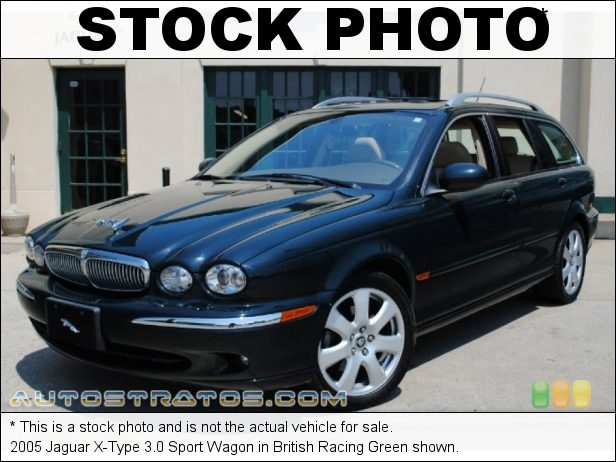 Stock photo for this 2005 Jaguar X-Type 3.0 Sport Wagon 3.0 Liter DOHC 24 Valve-V6 5 Speed Automatic