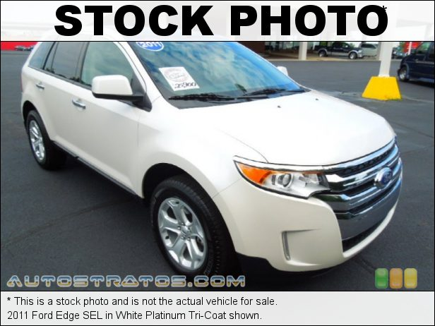 Stock photo for this 2011 Ford Edge SEL 3.5 Liter DOHC 24-Valve TiVCT V6 6 Speed SelectShift Automatic