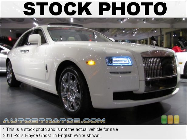 Stock photo for this 2011 Rolls-Royce Ghost  6.6 Liter DI Twin-Turbocharged DOHC 48-Valve VVT V12 8 Speed ZF Automatic