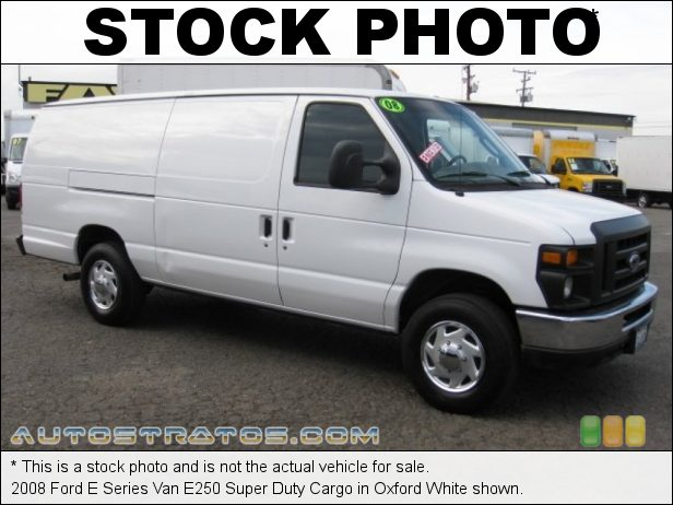 Stock photo for this 2003 Ford E Series Van E250 Extended Cargo 5.4 Liter SOHC 16-Valve V8 4 Speed Automatic