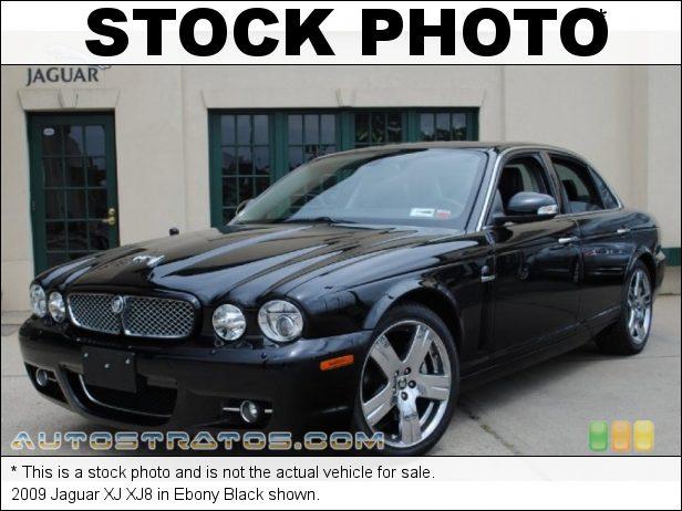 Stock photo for this 2009 Jaguar XJ XJ8 4.2 Liter DOHC 32-Valve VVT V8 6 Speed ZF Automatic