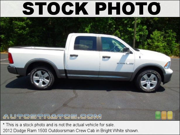 Stock photo for this 2012 Dodge Ram 1500 SLT Crew Cab 4.7 Liter SOHC 16-Valve Flex-Fuel V8 6 Speed Automatic