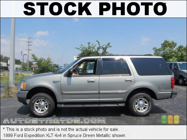 Stock photo for this 1999 Ford Expedition XLT 4x4 4.6 Liter SOHC 16-Valve V8 4 Speed Automatic