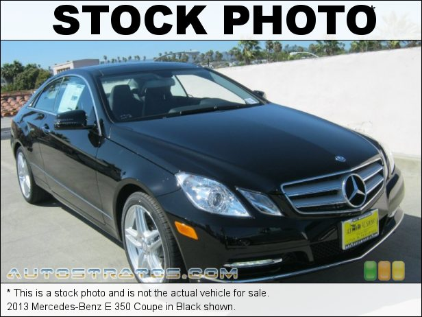 Stock photo for this 2013 Mercedes-Benz E 350 Coupe 3.5 Liter DI DOHC 24-Valve VVT V6 7 Speed Automatic