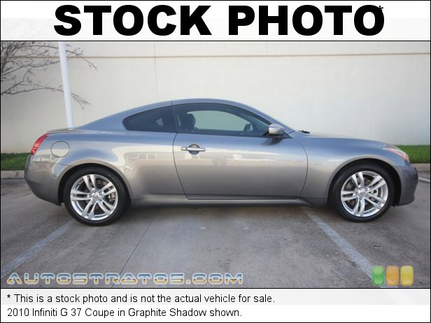 Stock photo for this 2010 Infiniti G 37 Coupe 3.7 Liter DOHC 24-Valve CVTCS V6 7 Speed ASC Automatic