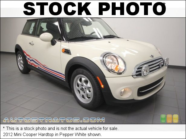 Stock photo for this 2012 Mini Cooper Hardtop 1.6 Liter DOHC 16-Valve VVT 4 Cylinder 6 Speed Steptronic Automatic