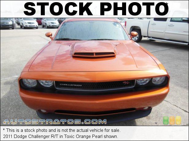 Stock photo for this 2011 Dodge Challenger R/T 5.7 Liter HEMI OHV 16-Valve VVT V8 5 Speed AutoStick Automatic