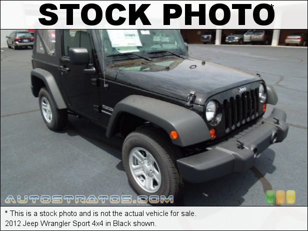 Stock photo for this 2012 Jeep Wrangler Sport 4x4 3.6 Liter DOHC 24-Valve VVT Pentastar V6 5 Speed Automatic