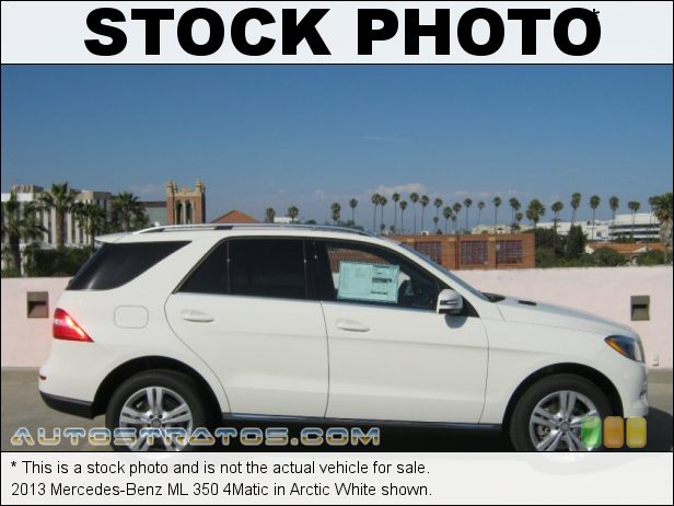 Stock photo for this 2013 Mercedes-Benz ML 350 4Matic 3.5 Liter DI DOHC 24-Valve VVT V6 7 Speed Automatic
