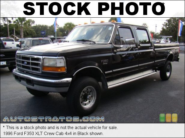 Stock photo for this 1996 Ford F350 Crew Cab 4x4 7.3 Liter OHV 16-Valve Turbo-Diesel V8 4 Speed Automatic