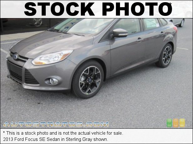 Stock photo for this 2013 Ford Focus SE Sedan 2.0 Liter GDI DOHC 16-Valve Ti-VCT Flex-Fuel 4 Cylinder 6 Speed Automatic