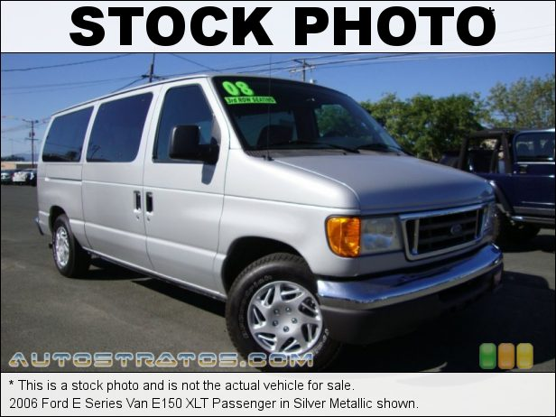 Stock photo for this 2006 Ford E Series Van E150 5.4 Liter SOHC 16-Valve Triton V8 4 Speed Automatic
