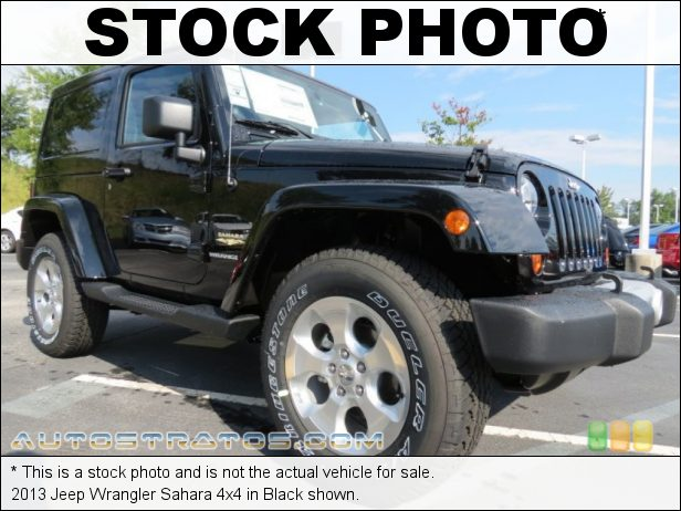 Stock photo for this 2013 Jeep Wrangler Sahara 4x4 3.6 Liter DOHC 24-Valve VVT Pentastar V6 5 Speed Automatic