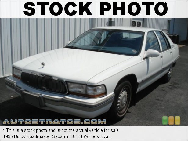 Stock photo for this 1994 Buick Roadmaster Sedan 5.7 Liter OHV 16-Valve V8 4 Speed Automatic