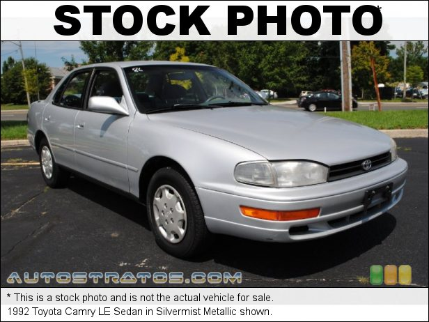 Stock photo for this 1993 Toyota Camry LE Sedan 2.2 Liter DOHC 16-Valve 4 Cylinder 4 Speed Automatic
