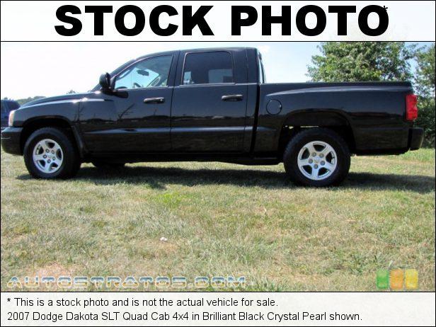 Stock photo for this 2007 Dodge Dakota SLT Quad Cab 4x4 4.7 Liter OHV 16-Valve V8 5 Speed Automatic