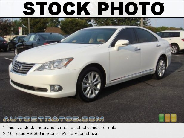 Stock photo for this 2010 Lexus ES 350 3.5 Liter DOHC 24-Valve VVT-i V6 6 Speed ECT-i Automatic