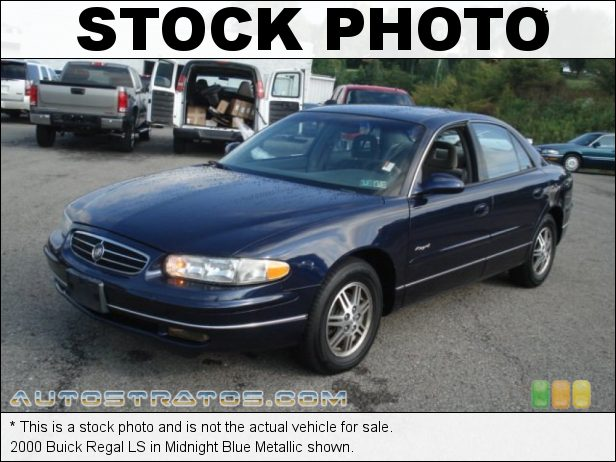 Stock photo for this 2000 Buick Regal LS 3.8 Liter OHV 12V V6 4 Speed Automatic