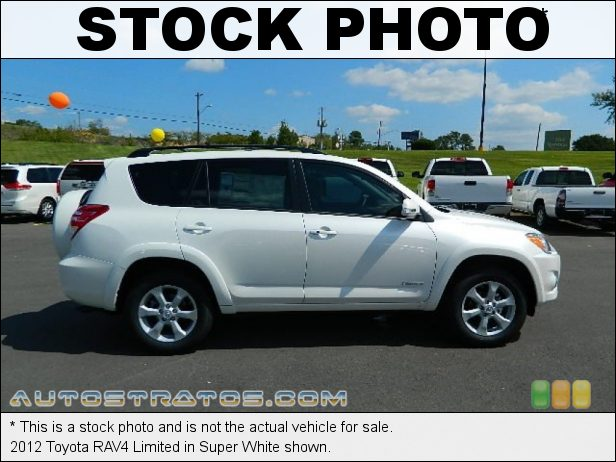 Stock photo for this 2012 Toyota RAV4 Limited 2.5 Liter DOHC 16-Valve Dual VVT-i 4 Cylinder 4 Speed ECT-i Automatic