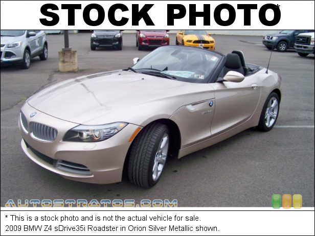 Stock photo for this 2009 BMW Z4 sDrive35i Roadster 3.0 Liter Twin-Turbocharged DOHC 24-Valve VVT Inline 6 Cylinder 6 Speed Manual